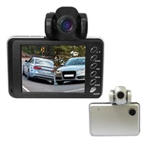 Dual camera HD car DVR X2000