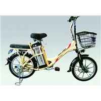 Electric Shopping Bikes C6 with Lithium Battery