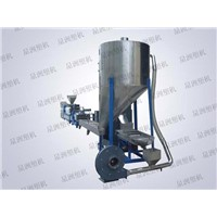 Engineering material automatic mixing granulator