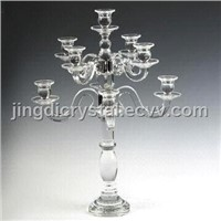 Fashine crystal glass candle holder