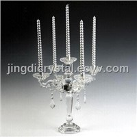 Fashine glass candlestick