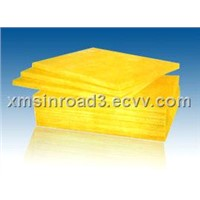 Fiber glass wool board insulation material