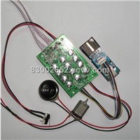 Fingerprint password lock kit ZAZ-C101-V