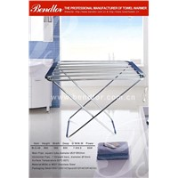 Floor standing foldable and Stainless Steel ELECTRIC CLOTHES DRYER/FOLDING DRYING RACK (BLG-49)