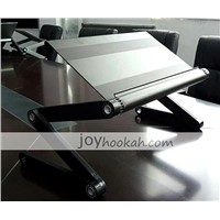 Folding laptop table portable laptop stand for bed sofa aluminium material