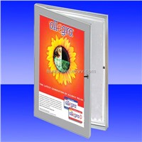 Four sides on aluminum frame light box HPL-SSC-A3