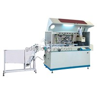Glass Cement Bottle Automatic Screen Printing