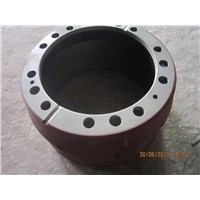 Gray iron 250 Brake Drum for truck and trailer