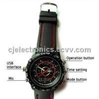 Hidden Camera/Pinhole Camera -CJ-PC7008H Water-Proof Watch Hidden Video Recorder