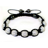 High Quality Shamballa Clay Disco Ball MJ001
