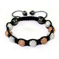 High Quality Shamballa Clay Disco Ball (MJ004)