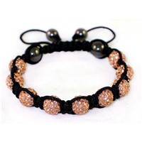 High Quality Shamballa Clay Disco Ball MJ005
