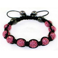 High Quality Shamballa Clay Disco Ball (MJ015)