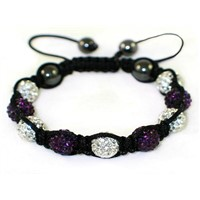 High Quality Shamballa Clay Disco Ball (MJ016)