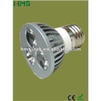 High efficiency E27 2years warranty led spotlight bulb