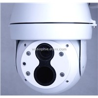 IPQ100 IP gimbal ball thermal visible imaging camera