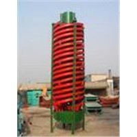 Industrial high efficiency spiral chute manufacturer of Yuhui with ISO9001:2000