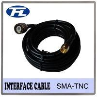 Interface Coaxial Cable RG58 TNC SMA male connector