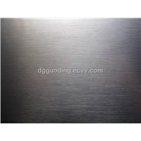 Tungsten steel brushed finish stainless steel films