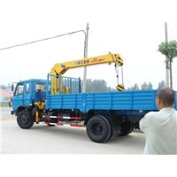 JAC Truck Loading Mounted Crane