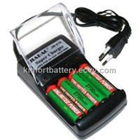 JIABAO fast battery chargers for AA/AAA/NI-MH batteries,CE Rohs