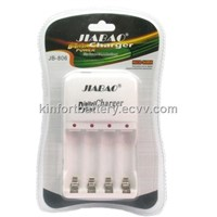JIABAO quick battery chargers for AA/AAA rechargeable batteries