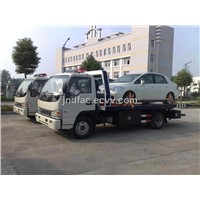 Jiangte5060tqzb Foton Fladbed Road Wrecker/Car Carrier