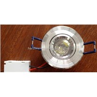 LED Ceiling Lights, Golden, 1W power