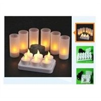 LED Rechargeable Candle Light,LED Flashing Gifts, LED Party Gifts, LED Holiday Gifts