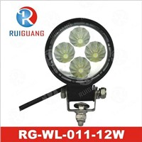 "3.5"" 12W LED Work Light, Bicycle Light (RG-WL-011) IP 67"