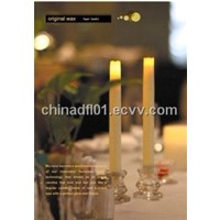LED taper candle with timer