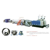 Large Diameter hdpe Water Supply Insulation Supply Pipe Extrusion Line