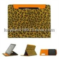 Leather case with card slots for new iPad/ iPad      icool-3170