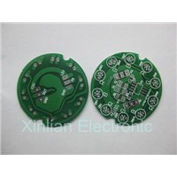 FR-4 1.2mm double-sided PCB for led bulb