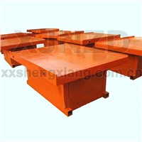 Low noise vibrating table