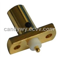 MCX Type Connector FOR PCB(with Flange)