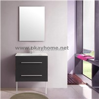MDF with PVC coated bathroom cabinet