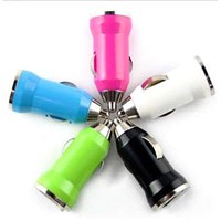 MINI car charger for mobile phone & mp3, mp4.