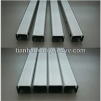 MS Carbon Black Steel Square Tube/Galvanized /Pre Galvanized Square Tube