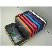 Made In Shenzhen 2000mAh Battery Case For iPhone 4/4S Mophie Juice Pack Plus