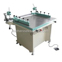 manual vacuum silk screen printing machine