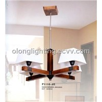 Manufacture Modern Wooden Pendant Light for Home Lighting