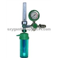 Medical Oxygen Cylinder Regulator W/ Gauge Protected JH-907B1