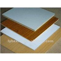 Melamine film faced plywood