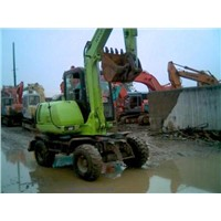 MiNi Wheel Excavator HYUNDAI