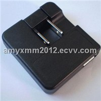 Mini Charger, Folding + Common Plug, with UL/CUL/PSE/CCC Marks, Used for Mobile Phone