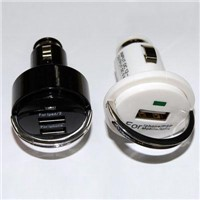 Mini USB car chargers for cellphones, Navigator, tablet PC and Laptop computers