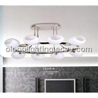 Modern Glass Ceiling Lights, Used for Home, Mall and Hotel Decorations