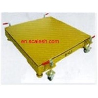 Movable platform scales,floor scale from YingHeng Weighing Scale