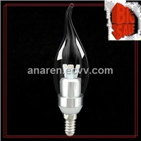 New design energy saving High power 3.5w dimmable led canll bulb lamp/lighting E27